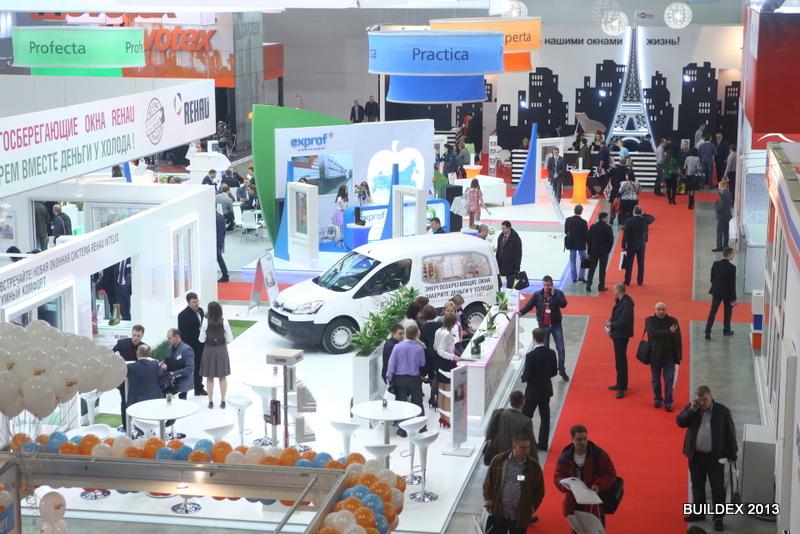 На выставке Buildex'2013